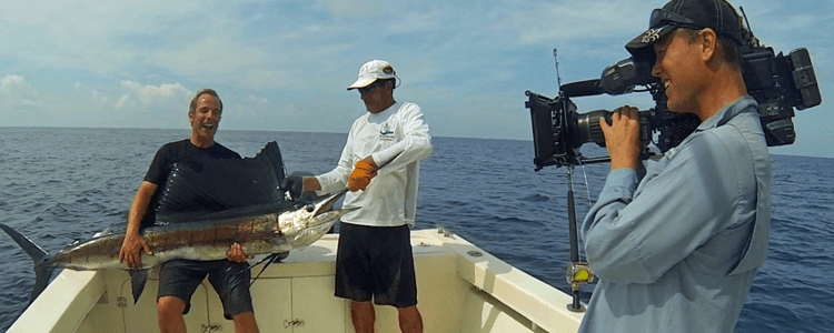 The Guatemala fishing is so good that Rob Green Extreme Fisherman filmed with Panamax.